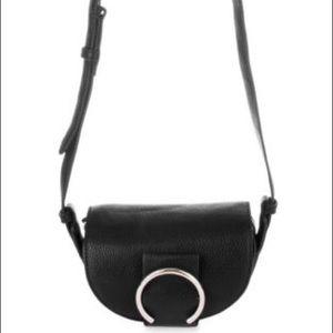 Nine West crossbody handbag with goldtone hardware